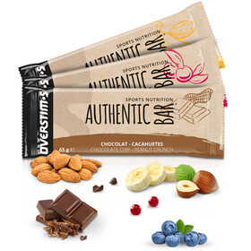 OVERSTIM.s Authentic Bar Box 6x65g Mixed Flavors